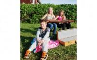 Eric, Ella och Kerstin i Bingsjö