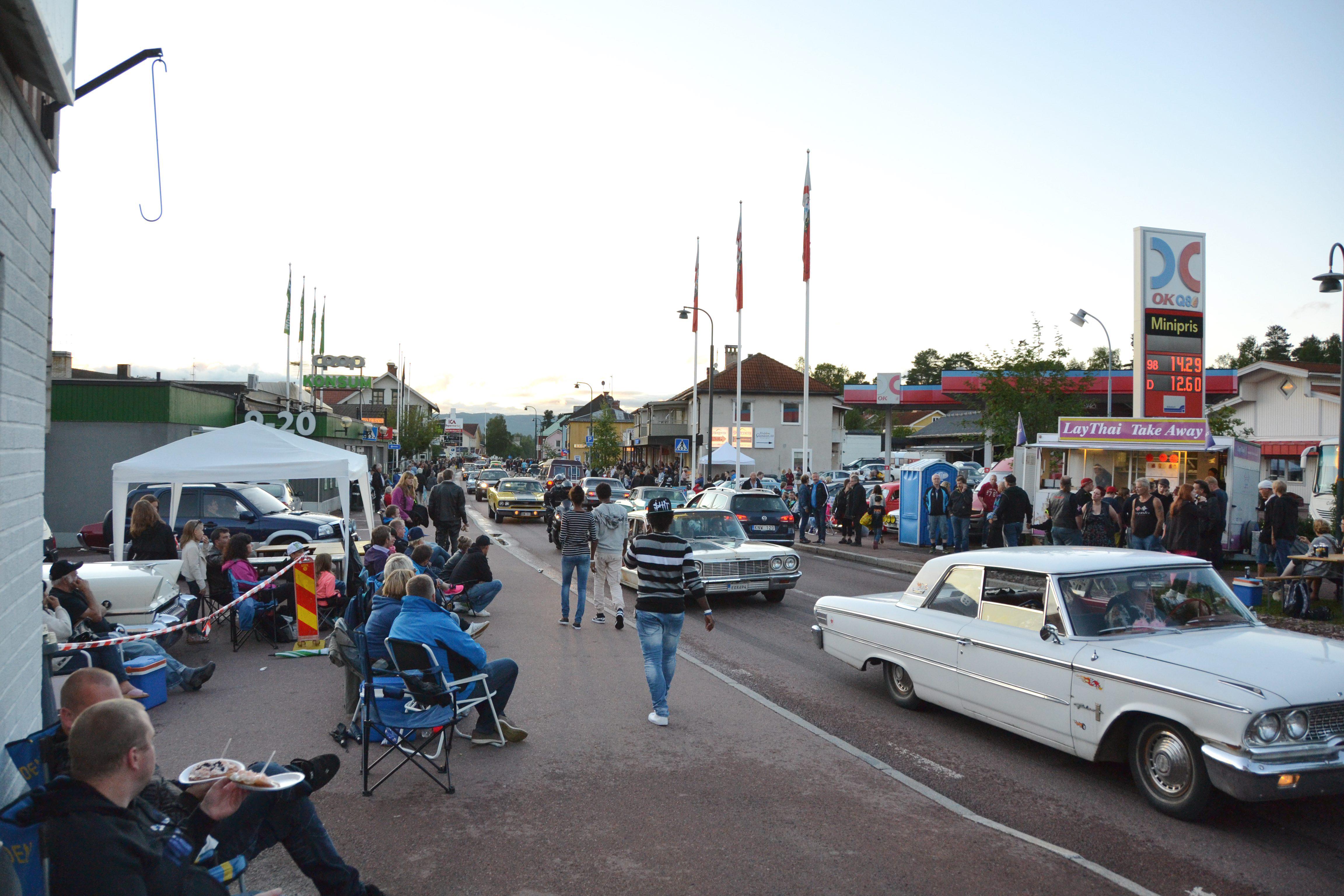 Dalabygdenväxande Festival Som Lockar Trettiotusen