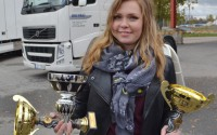 Lastbilsföraren Emilie Terviö Pettersson