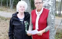 Ulla Karlsson och Gudrun Pärnarp
