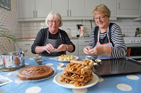 Elisabeth Mattsson och Eva Dahlberg