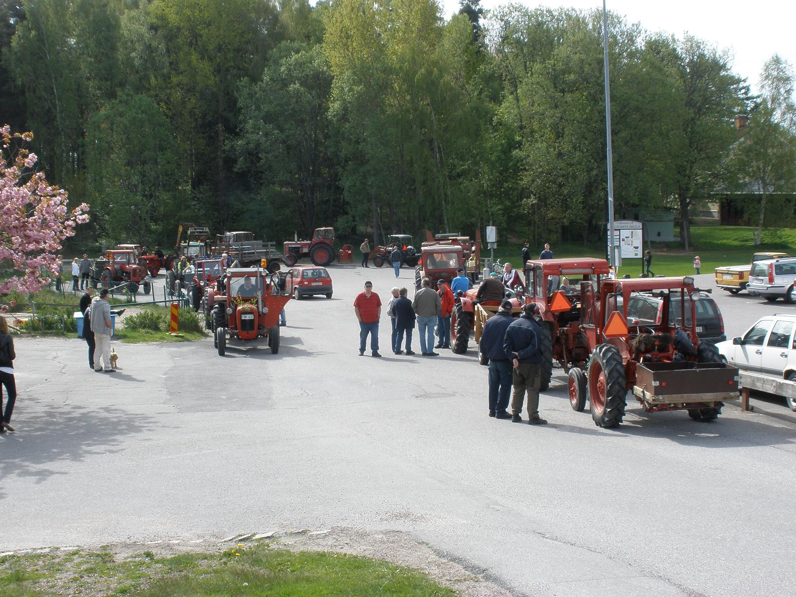 Mitt Sörmland - Veterantraktorrally i Stigtomta