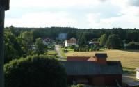 Mitt Sörmland - Utsikt från kyrktornet mot samhället