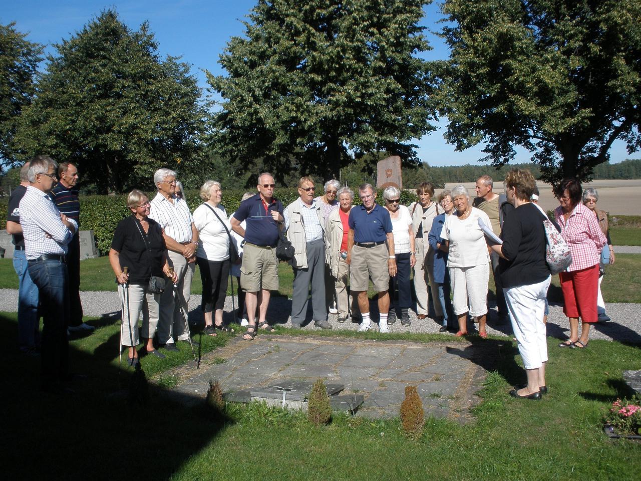 Mitt Sörmland - Vandring på Stigtomta kyrkogård