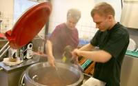 Närproducerad mat i Näshultaskolan
