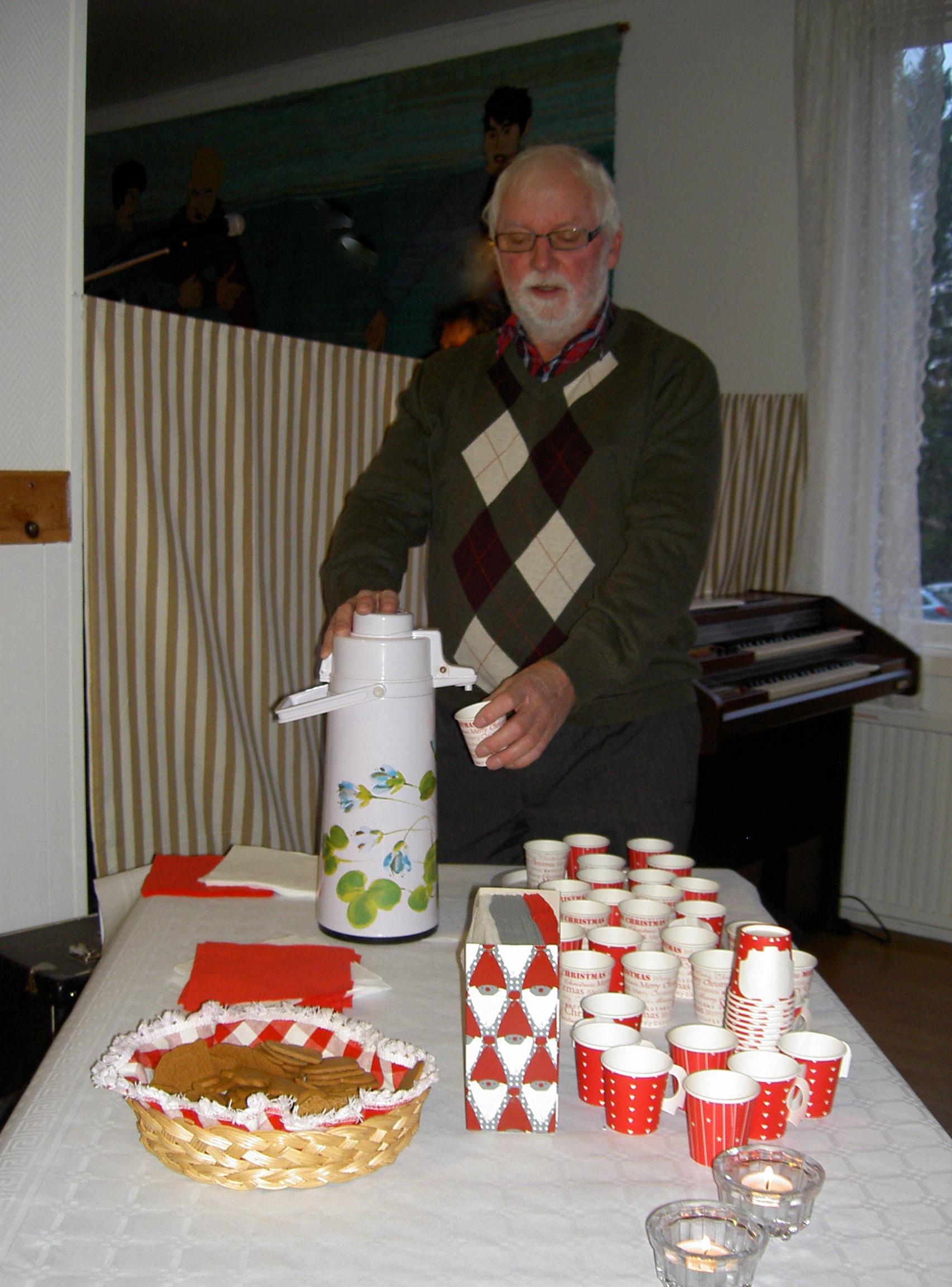 Mitt Sörmland - Runo serverar glögg och pepparkakor