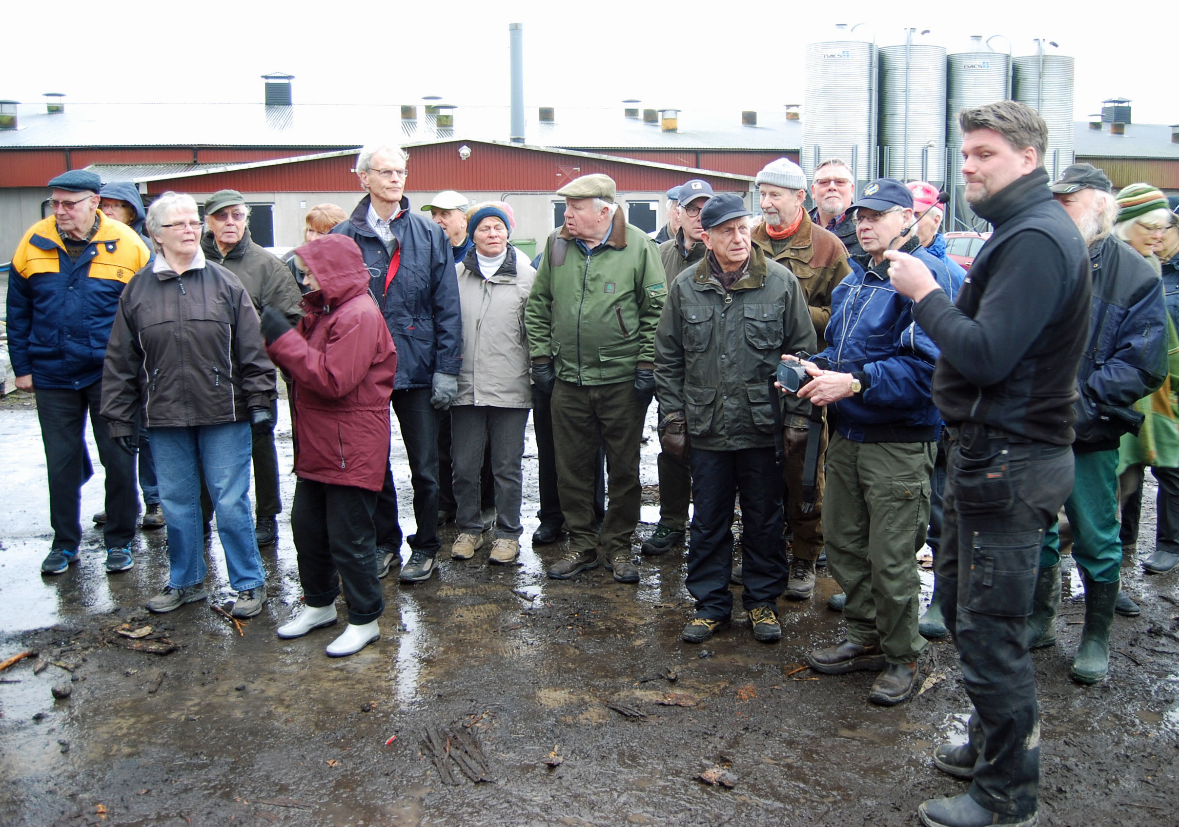 Mitt Sörmland - SPF Malmabygden ett företagsbesök vid Röhls Lantbruk i Dunker