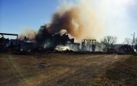 Grafikens Hus brann ner till grunden