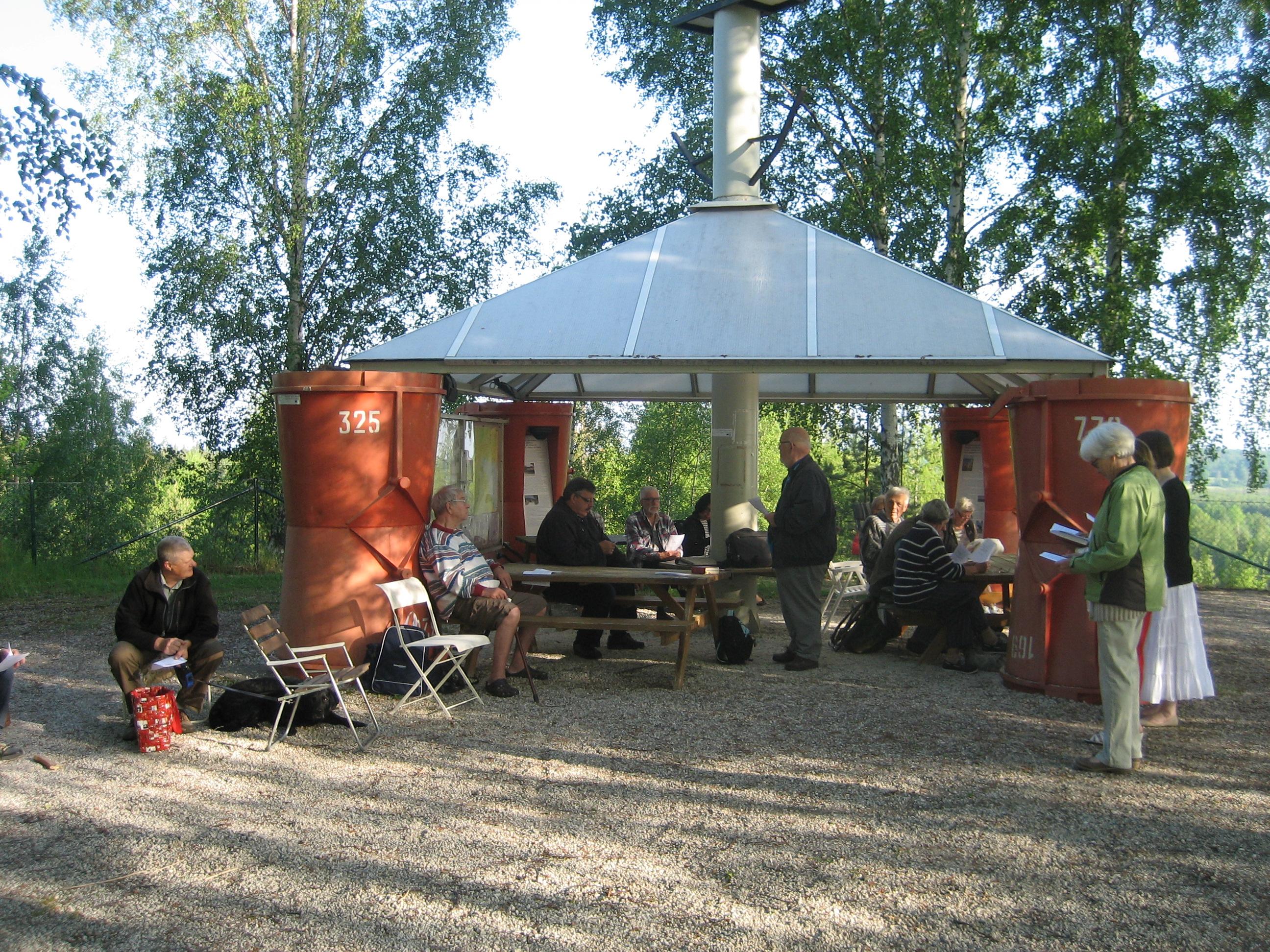 Mitt Sörmland - Gökotta vid kalkbrottutsikten i Österåker