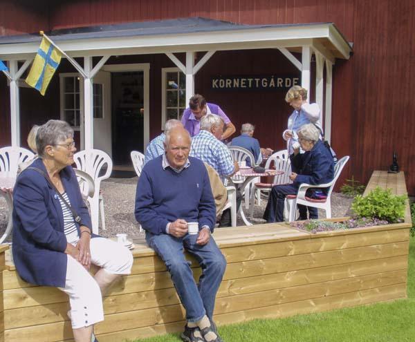 Mitt Sörmland - Lennart och Eva utanför Kornettgården