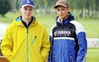 Maurits Segersvärd och Erik Österberg