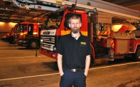Förebyggande brandchef Fredrik Eriksson