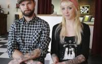 Rickard Lindström och Camilla Schöllin