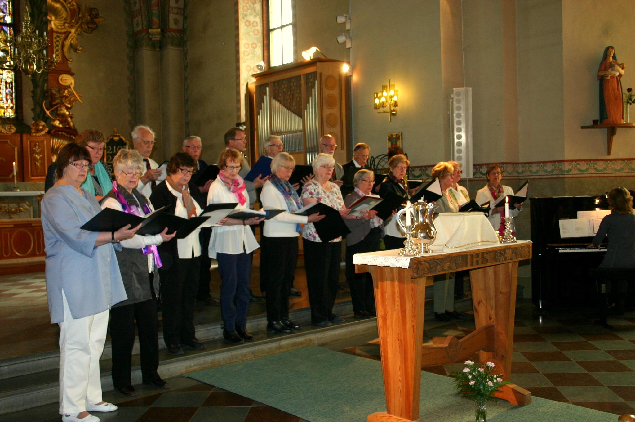 Mitt Västmanland - Kören sjunger under bönesöndagen