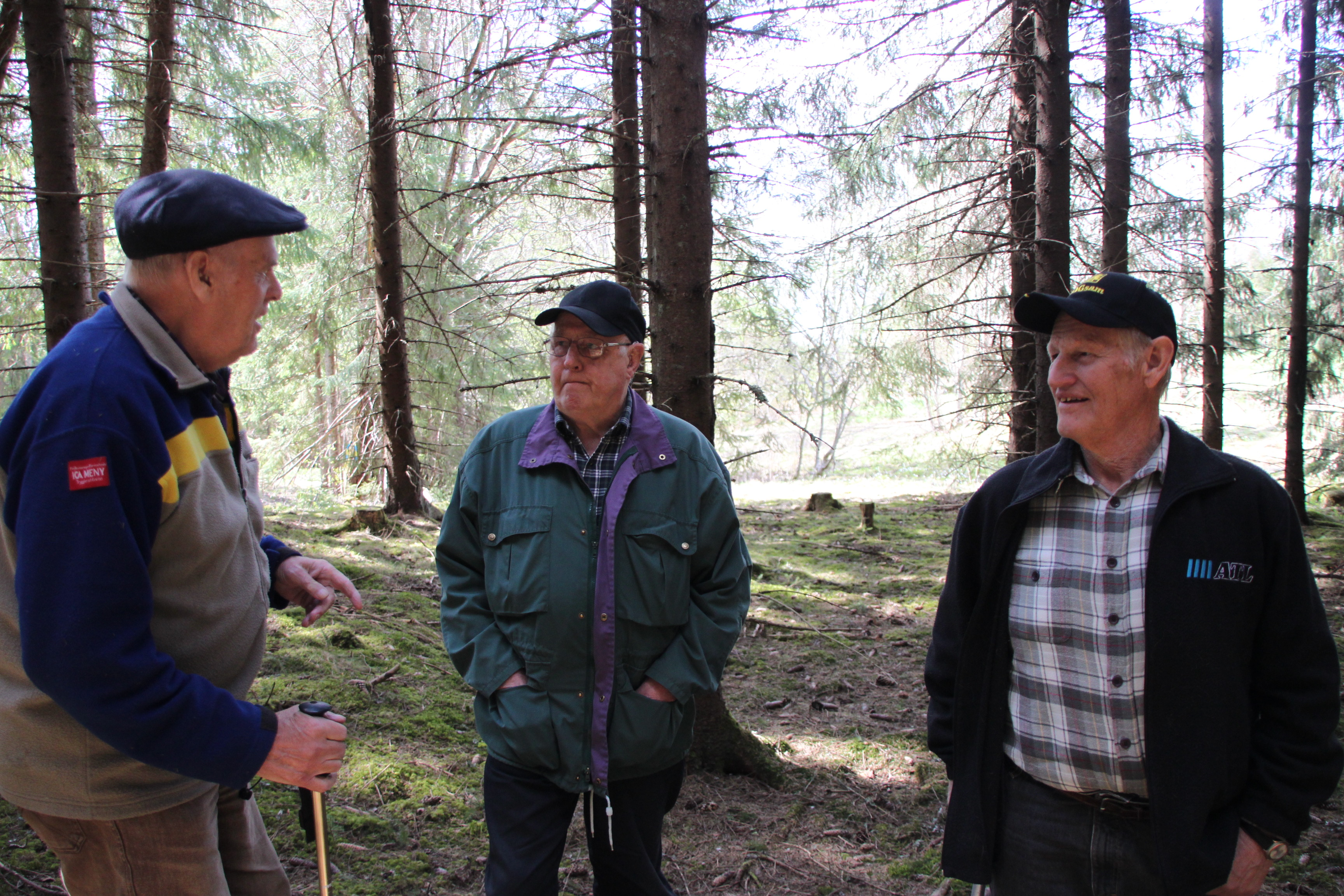 Mitt Västmanland - Bernt Olov Johansson, Ingemar Eriksson och lars Johansson.
