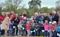 Kronprinsessan inviger utställningen: Prinsessan Estelle – födelse och dop, på Strömsholms slott