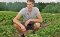 Jordgubbsodlare Simon Palmblad