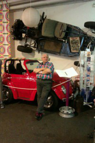 Mitt Västmanland - Stroke på bilmuseum