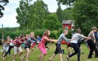 Vitryska barn i Lärsäter