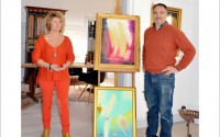 Carina Karlsson och Pekka Niemi visar konst