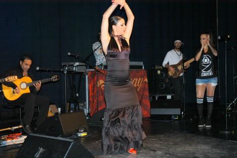 Mitt Västmanland - Lenacay dansar flamenco i Norberg