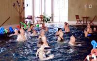 PRO Ransta startade säsongens vattengymnastik i måndags