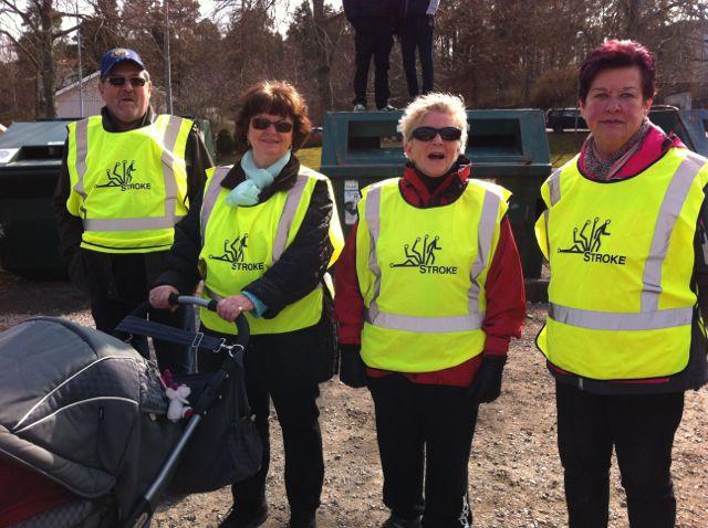 Mitt Västmanland - Bissen Brainwalk i Köping med strokeföreningen på plats