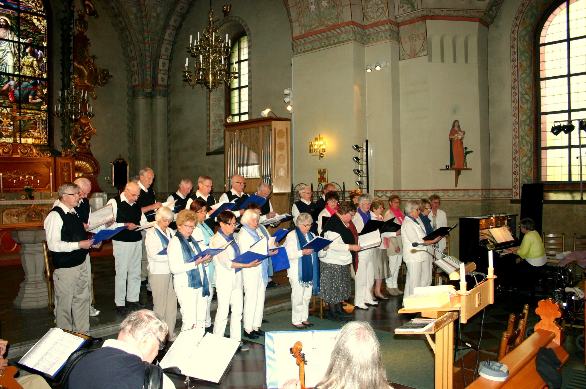 Mitt Västmanland - Spf och Pro sjöng in våren i Norbergs kyrka